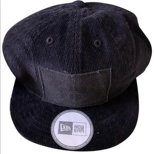 LRG CAP HAT STRAP BACK BLACK CORDUROY ONE SIZE